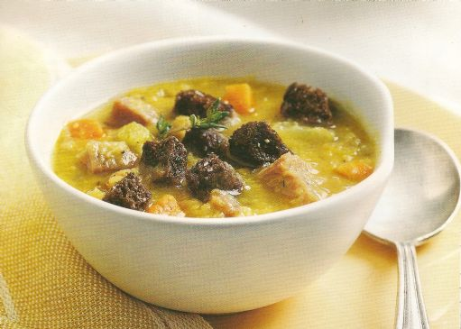 Curried Split-Pea Soup