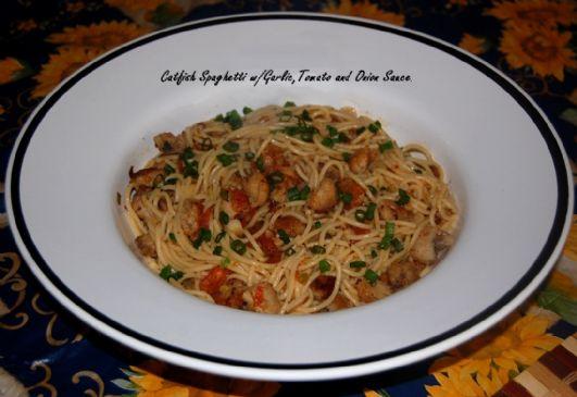 Ralphiel's Catfish Spaghetti