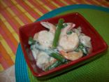 Shrimp Cooked in Coconut Milk