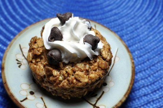 Cookie Dough Oatmeal Cake