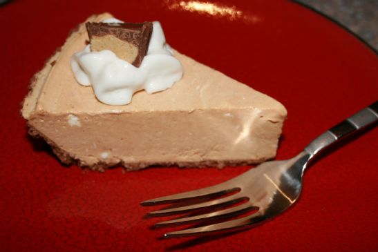 Low Fat Peanut Butter Cream Pie