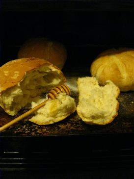 Crusty, Fresh-baked Bread