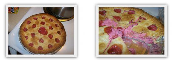 low sugar cherry pie