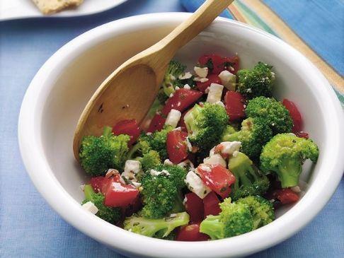 Easy Broccoli Salad for 1