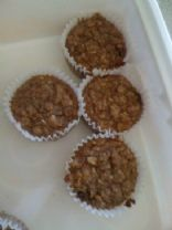 oatmeal carrot apple muffins
