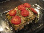 Pesto Tomato Salmon