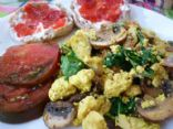 Tofu Scramble with Spinach