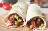 Slow Cooker Vegetarian Burritos