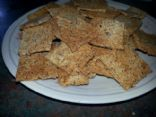 Mexican Flax and Cheese Crackers - Low Carb