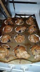 PW 6 week challenge Blueberry muffin
