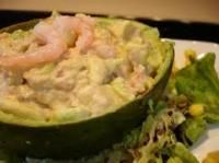 Avocat Aux Crevettes (Avocado Stuffed W/Shrimp)