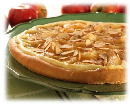 Cream Cheese Apple Torte