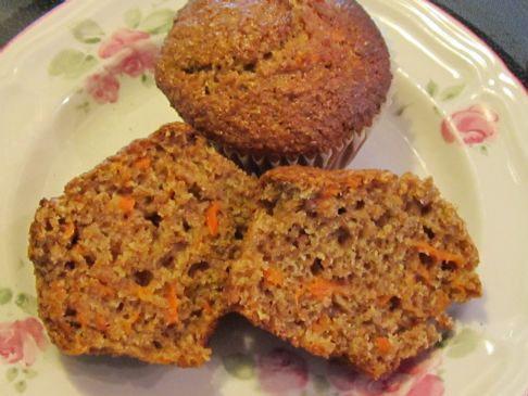 Wheat Bran Carrot Muffins