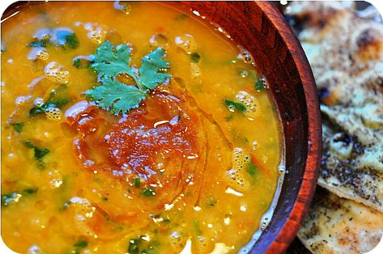 Moroccan Chicken and Chick Pea Soup