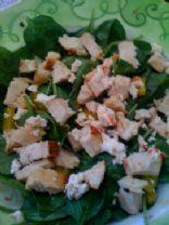 Spicy Chicken Spinach Salad