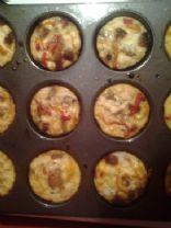 Mini Italian-style Fritata Cupcakes