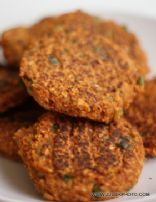Pinto Bean Veggie Pattie's