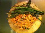 Tuna Pasta Salad with Sesame Asparagus