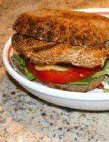 Grilled Portabella Pineapple Burger