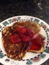 Oat Flour Pancakes