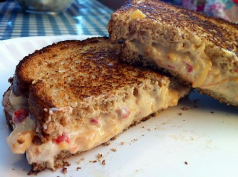 Homemade Pimento Cheese (for one)