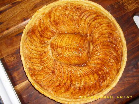 French Rustic Apple Tart