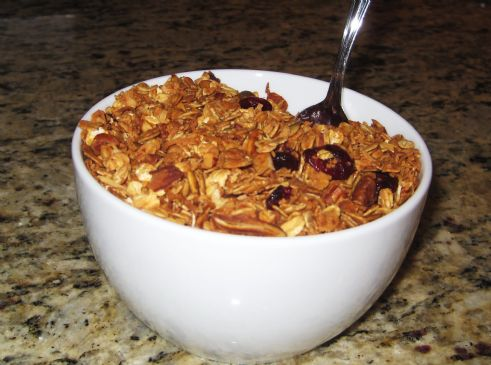 Granola - Crunchy and low calorie
