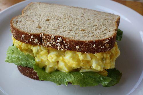Jessica's Egg Salad Sandwich