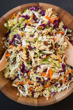 Asian Ramen Chicken Chopped Salad
