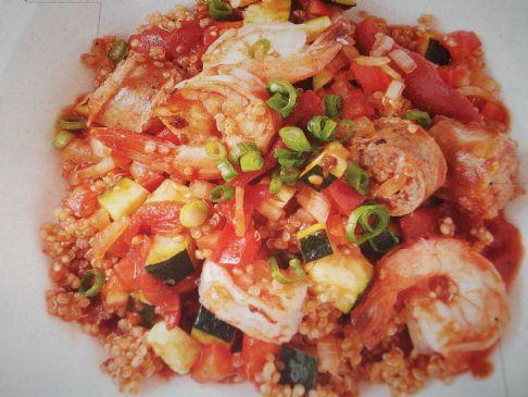 Quinoa Jambalaya- Oxygen Magazine