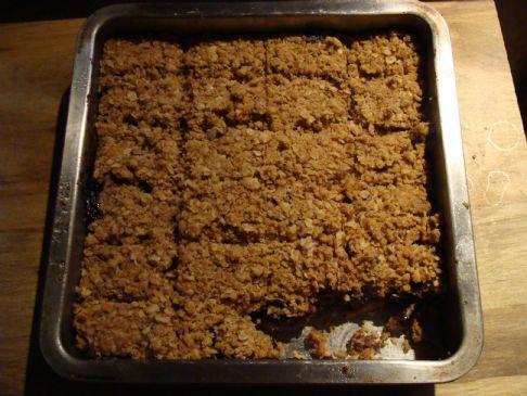 Blueberry Flax Oatmeal Bars