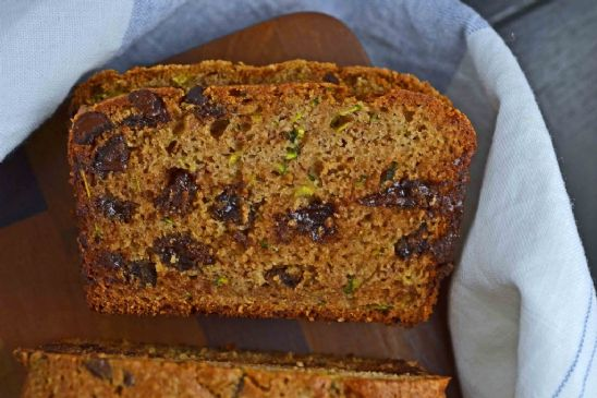 Gluten Free Chocolate Chip Zucchini Muffins or Bread