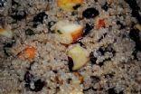 Breakfast Quinoa, Apples, Walnuts, and Cranberries