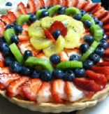 Tofu Fruit Tart