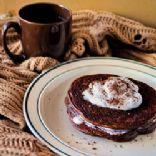 Bulked Up Mocha Pancakes