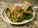 Tangy Bean Salad w. Carrots and Green Onions