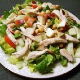 Chopped Chicken Salad with Apples & Walnuts