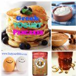 Greek Yogurt Quinoa Pancakes