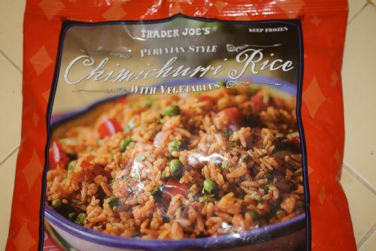 Peruvian Style Rice with Turkey Sausage