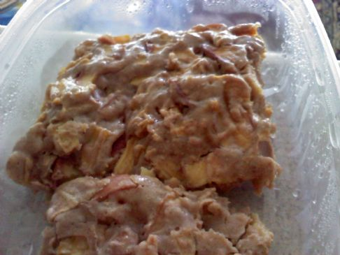 Soo moist apple cake/bars/bread lol