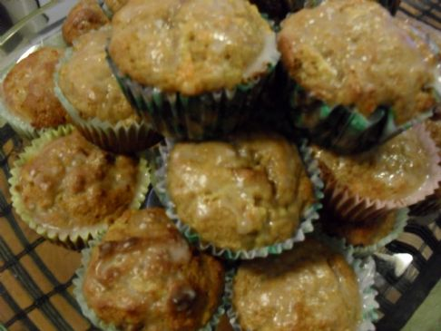 Cinnamon Apple and Carrot Muffins