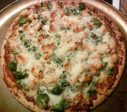 Veggie & Chicken Pizza