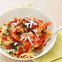 Arrabiata-Style Shrimp