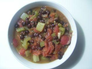 Black Bean & Tomato Soup