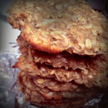 Tropical Banana Oatmeal Cookies, gluten free