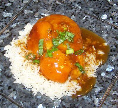 Apricot Chicken Oriental
