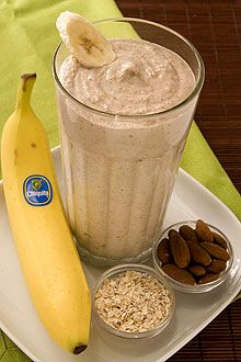 Banana Oatmeal Power Shake