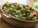 Broad Beans and Ham