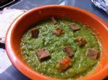 Super Springy Vegan Green Soup