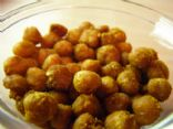 Curried Baked Chickpeas